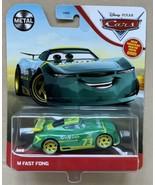 DISNEY PIXAR CARS M FAST FONG NEXT GEN REV-N-GO METAL 2021 Green Car New - $13.99