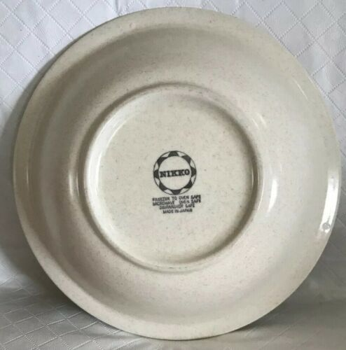 Nikko China Buttercup Pattern 2 Dinner Plates / 1 Soup Bowl Stoneware Unused image 6