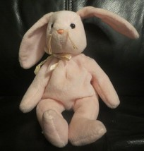 Ty Beanie Baby Hoppity the Pink Bunny Rabbit 1996 PVC Filled NO TAG - $4.94