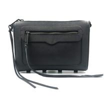 Rebecca Minkoff Avery Saffiano Mujer Cuero Negro Cruzado Bag HS16MSSX10 - $210.86