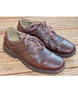 Clarks Size 11.5M Senner Place Dark Brown 66255 Oxford Shoes Career Men's - $37.99