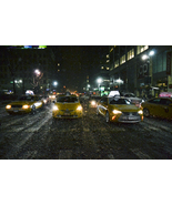 "Panoramic Wall Decor Canvas Print- ""Headlights & Streetlights"" - $110.00"