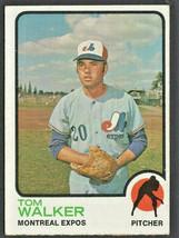 Montreal Expos Tom Walker 1973 Topps Baseball Card #41 - $0.50