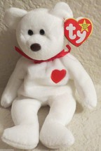 Ty Beanie Baby Valentino 1994 5th Generation 2 Tag Errors - $17.81
