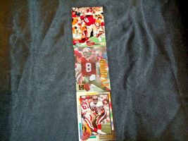 San Francisco 49er's Steve Young #8 QB Football Trading Cards AA-191806 Vintage image 4