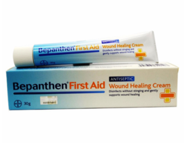 2 X Bepanthen First Aid Antiseptic Wound Healing Cream 30g Free Shipping - $27.70