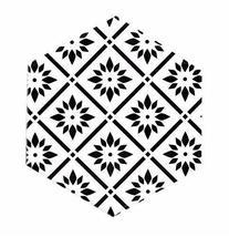 Nordic Creative Geometric Ceramic Coasters Insulation Pad Decoration Cork Mats A - $11.79
