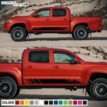 Sticker Modern Stripes Mountain Sport for Toyota Tacoma design Turbo 2014 - 2021 - $49.54