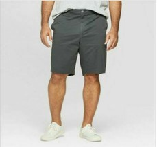 "Men's Goodfellow & Co.  10.5"" Slim Fit Chino Shorts Charcoal 42"