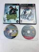 PS2 Games LOT of 4 - Medal of Honor, SOCOM - Frontline European Assault - $12.86