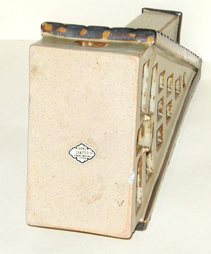 Hand Crafted Otagiri Original Japan A-Frame Candle Holder House