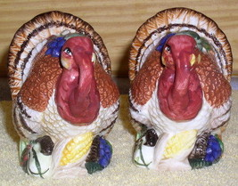 Vintage set of Turkey Porcelain Salt & Pepper - $22.09
