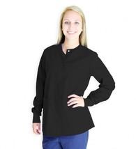 Spectrum Uniforms Black Cardigan Warm Up Round Neck 3XL Women's 414C New - $19.37