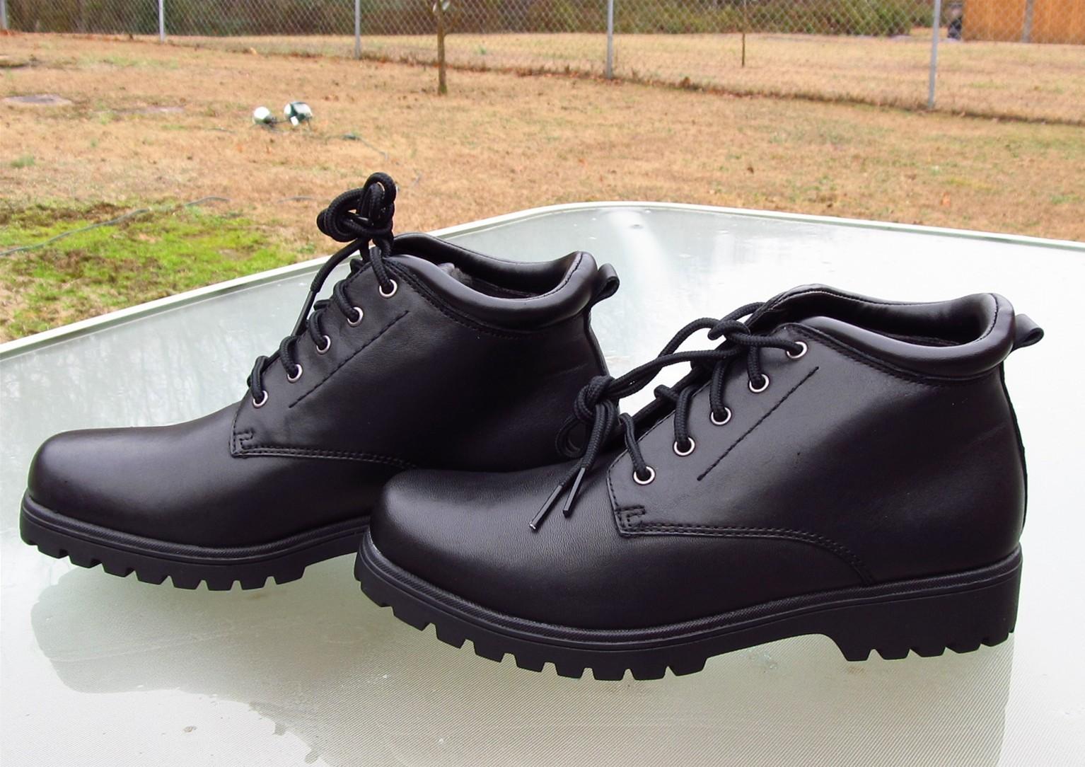 CROFT & BARROW RETREAT Ankle High Black Boots Unused Ladies sz 6 Med
