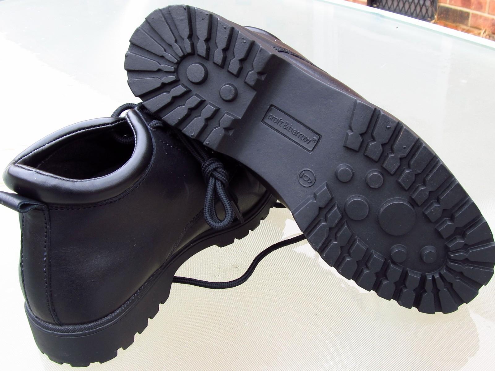 CROFT & BARROW RETREAT Ankle High Black Boots Unused Ladies sz 6 Med image 3