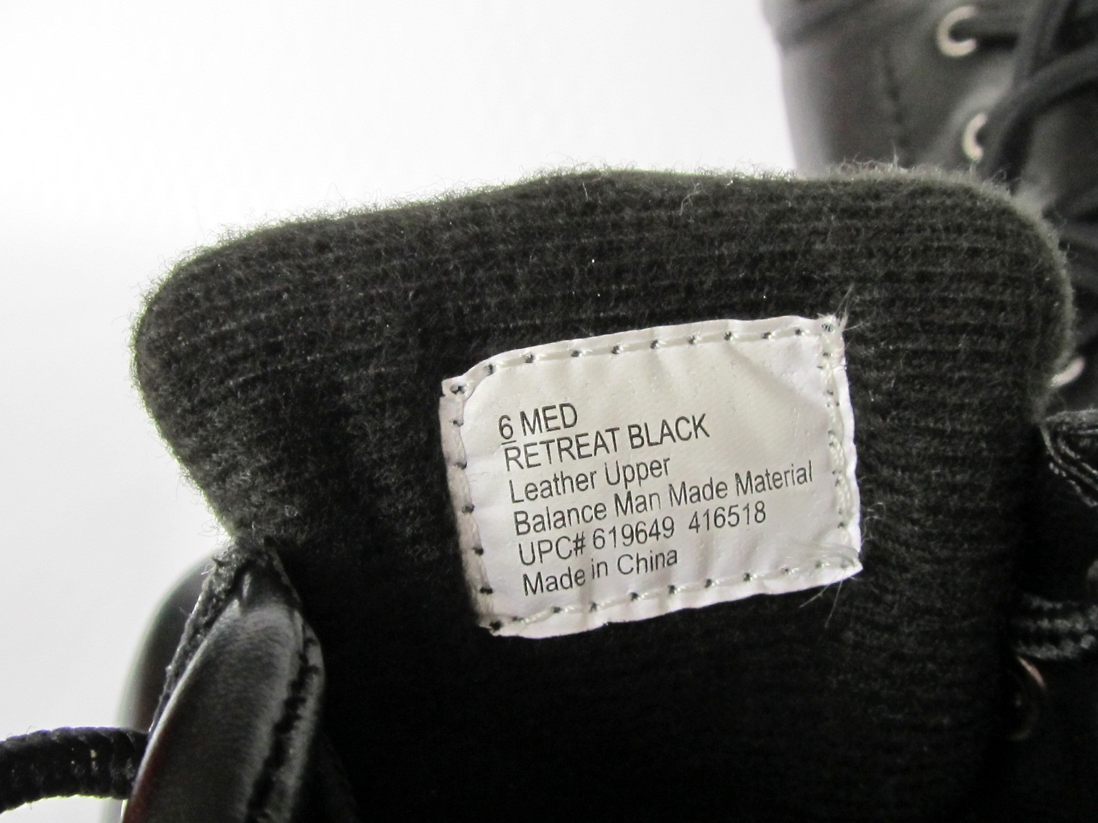 CROFT & BARROW RETREAT Ankle High Black Boots Unused Ladies sz 6 Med image 4