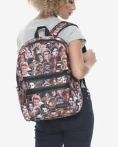 Riverdale Archie & Jughead Photos Double Zipper Pocket Backpack School B... - $31.00 CAD