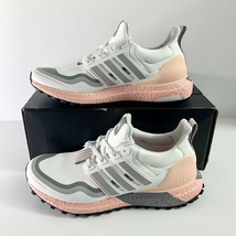 NEW! Adidas Ultra Boost Guard Running Shoes Women's Sneakers Size 8 Shoes Pink  - $120.62