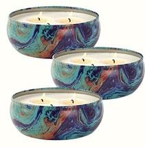LA JOLIE MUSE Citronella Candles Set 3, 12 oz Each Scented Candle Natura... - $38.44