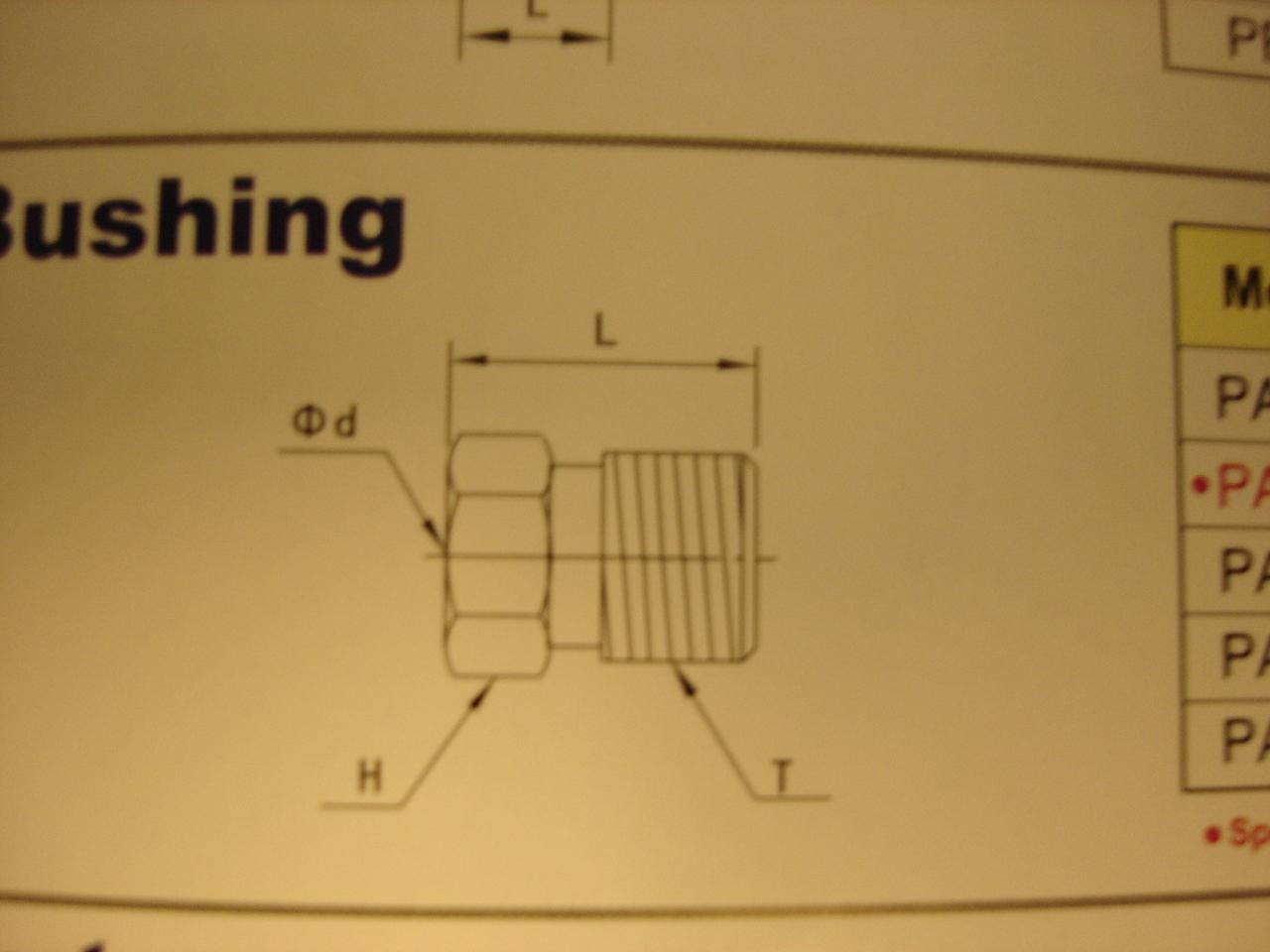 M6 Compression Bushing PA06