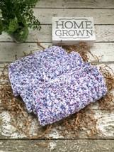 Dishcloth Set Handmade Kitchen Crochet Dish Cloths Blue Blueberry Purple... - $18.75