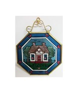Joan Baker Designs Stained Glass Welcome Cottage Hanging Window Art - $22.49