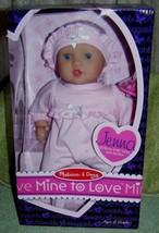 """Melissa & Doug Mine to Love Jenna 12"""" Baby Doll New - $22.28"""
