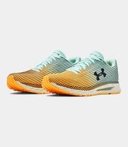 Under Armour Men's UA HOVR Velociti 2 Running Shoes Blue/Orange 10.5 M - $89.07