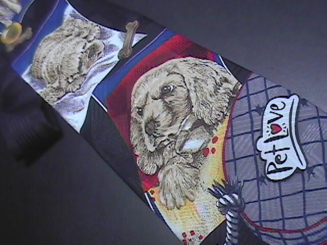 MMG Hallmark Pet Love Neck Tie A Puppy in Stages of Growth