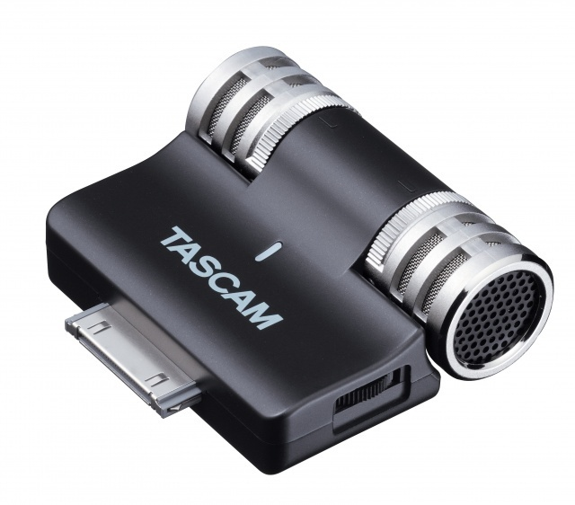 New Tascam iM2 Stereo Microphone For Apple iOS Products