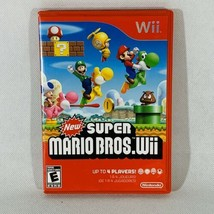 New Super Mario Bros. Wii (Nintendo Wii, 2009) Complete game Tested - $14.80