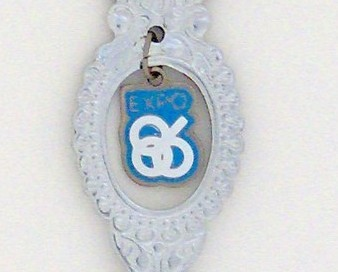 Souvenir Spoon - Event Commemorative - Expo '86
