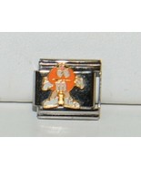 Casa DOro 9299 Orange M and M Character Link Italian Charm Stainless Steel - $9.99