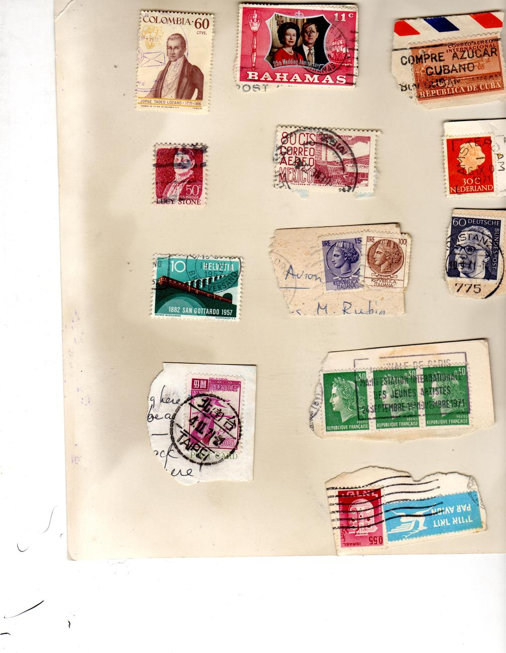 Stamps of the World -12