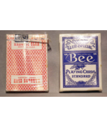 """Two Decks of Bee Playing Cards Used By """"Harolds Club Casino"""" - [sku#2022] - $21.99"""