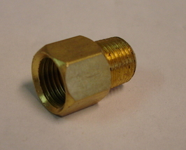 "Straight Adapter 1/8"" PT to M10 - $1.98"