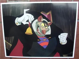 Disney Great Mouse Detective Villain Art Lobby Card - $24.99