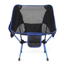 Ultralight Folding Chair Aluminium Alloy High Load Outdoor Camping color... - $47.33