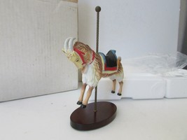 Franklin Mint Treasury Of Carousel Art Billy Goat Mint By William Manns Boxed - $9.85
