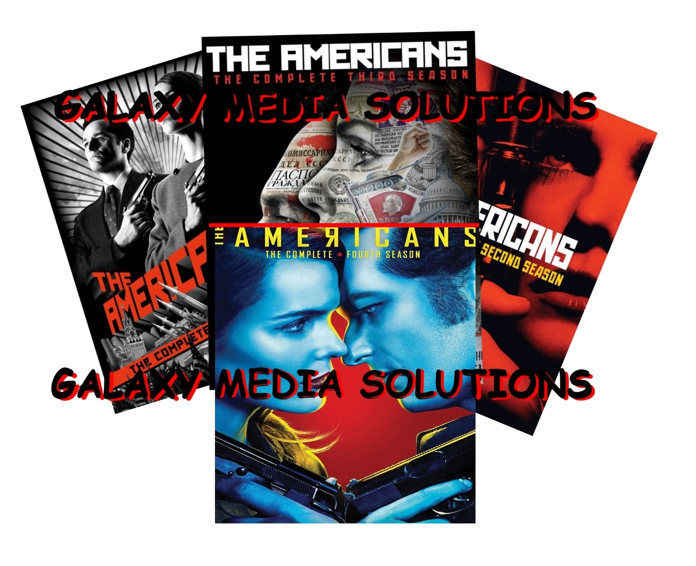 The americans season 1 4 dvd bundle