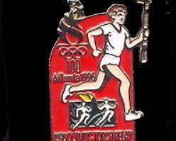 1996 Coca-Cola Olympic Torch Relay Pin