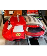 Disney Parks Wishables Cars Land Series Red Firetruck Small Plush 2021 New - $18.55
