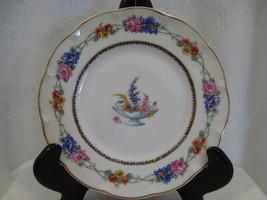 Theodore Haviland China Aquitama Pattern white Salad Plate circa 1920-1936 - $15.00
