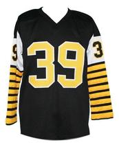 Ed Turek #39 Hamilton Tiger-Cats CFL New Men Football Jersey Black Any Size image 2