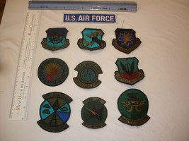 US Air Force Patches 10 patch collectors set embroidery - $17.81