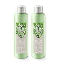 Yves Rocher Shower Gel 200 ml and   Body Lotion 200ml Set - Lily of the ... - $28.70