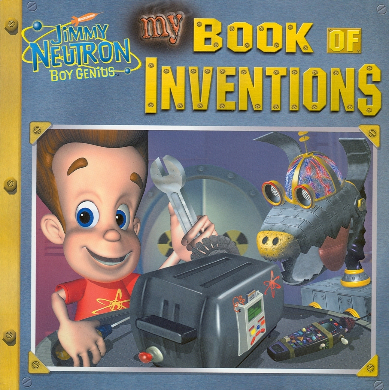 My Book of Inventions: JIMMY NEURON-BOY GENIUS