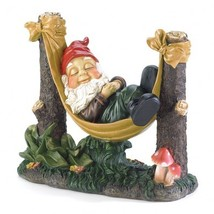 Slumbering Gnome Statue - $35.94