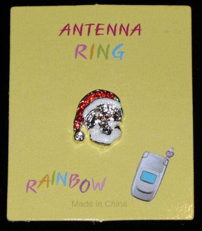 SANTA Cell Phone Antenna Ring