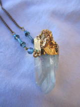 Quartz crystal pendant - $27.00